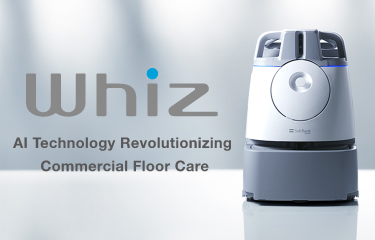 Whiz ai technology revolutionizing commercial floor care