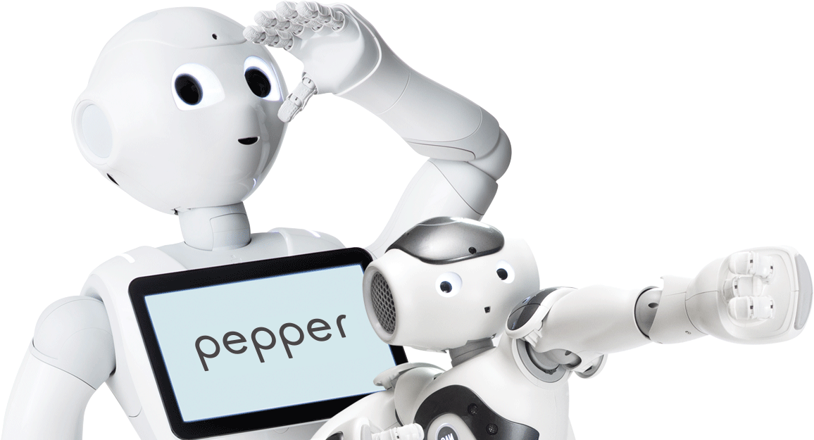 Pepper and NAO, the humanoid and programmable robots of SoftBank Robotics