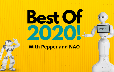 Best of 2020 With Pepper and NAO!