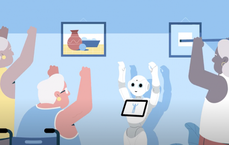 Pepper and NAO robots solutions for healthcare