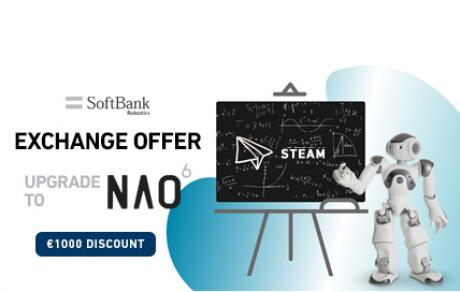 NAO SoftBank Robotics Exchange Offer