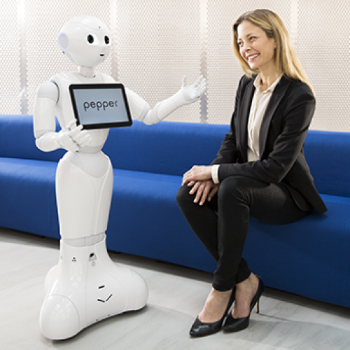 Improve customer knowledge of your customers with Pepper and NAO the humanoid and programmable robots of SoftBank Robotics