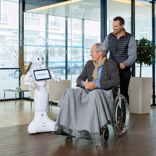 COVID-19 : Healthcare Support Initiative SoftBank Robotics