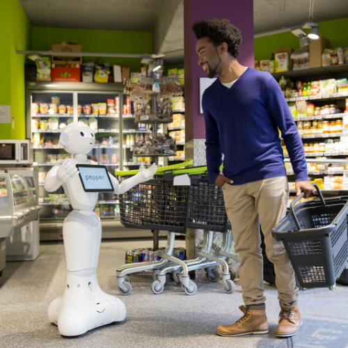 COVID-19 : Retail Support Initiative SoftBank Robotics