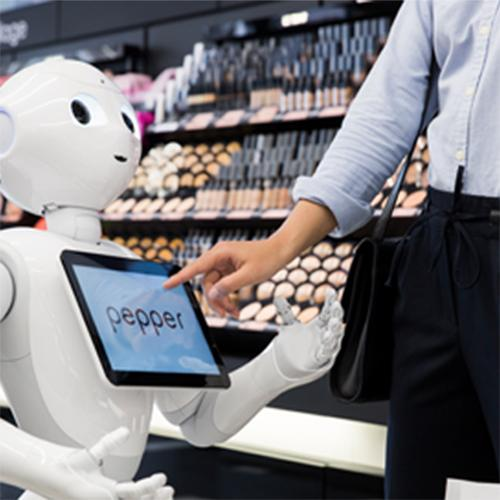 Provide services to your customers with Pepper and NAO the humanoid and programmable robots of SoftBank Robotics