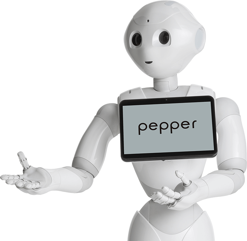 Pepper talking